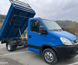 CAMION-BENNE IVECO DAILY 35C15 3.0 BENNE MEILLER AHK 3.5T MAXI