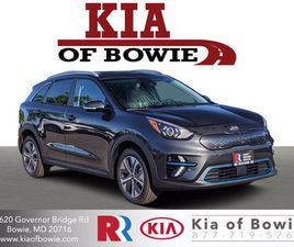 BRAND NEW GRAY COLOR 2021 KIA NIRO EV EX FOR SALE IN BOWIE, MD 20716. VIN IS KNDCC3LG4M510