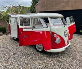 USED 2001 VOLKSWAGEN TRANSPORTER 1.6 CAMPER VAN NOT SPECIFIED 3,700 MILES IN WHITE/RED FOR