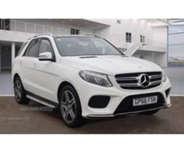 USED 2017 MERCEDES-BENZ GLE 250 D 4M AMG LINE PRE NOT SPECIFIED 48,098 MILES IN WHITE FOR