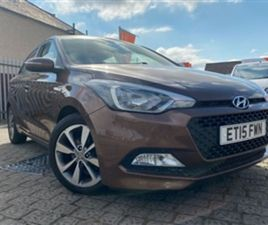 USED 2015 HYUNDAI I20 1.2 GDI SE 5D 83 BHP HATCHBACK 51,415 MILES IN BROWN FOR SALE | CARS