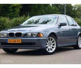 BMW 5-SERIE 525I EXECUTIVE UIT 31-01-2001 AANGEBODEN DOOR ASSET YOUNGTIMERS & OLDTIMERS