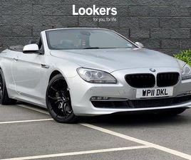 BMW 6 SERIES 640I SE 2DR AUTO 3.0
