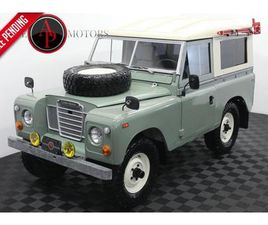 FOR SALE: 1972 LAND ROVER SERIES III IN STATESVILLE, NORTH CAROLINA