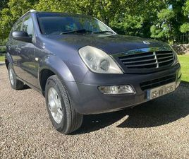 SSANGYONG REXTON FOR SALE IN WICKLOW FOR €3,000 ON DONEDEAL
