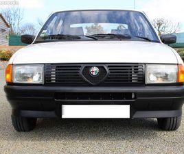 ALFA-ROMÉO 33 1.3S SÉRIE 1 1985. 20 000 KMS