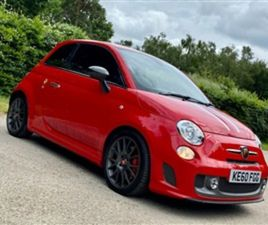 USED 2011 ABARTH 695 TRIBUTO FERRARI HATCHBACK 6,871 MILES IN RED FOR SALE | CARSITE