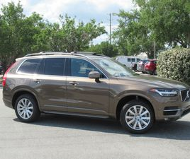 BRONZE COLOR 2016 VOLVO XC90 T6 MOMENTUM FOR SALE IN OCALA, FL 34474. VIN IS YV4A22PK4G108