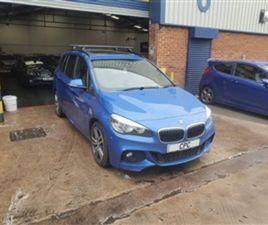 USED 2015 BMW 2 SERIES 220D XDRIVE M SPORT GRAN TOURER 2.0 5DR ESTATE 61,000 MILES IN BLUE