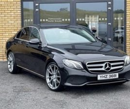 USED 2017 MERCEDES-BENZ E CLASS 220 D SAUTO SALOON 96,000 MILES IN BLACK FOR SALE | CARSIT