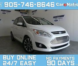 USED 2017 FORD C-MAX TITANIUM | ELECTRIC | PANO ROOF | LEATHER | NAV