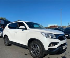 USED 2019 SSANGYONG REXTON 2.2 ICE 5DR AUTO (3.5 TONNE TOW) ESTATE 11,521 MILES IN WHITE F