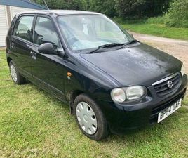 2004 04 SUZUKI ALTO 1.1 GL 5DR,IDEAL FIRST CAR,RUNABOUT,LOW MILES