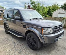 2013 LAND ROVER DISCOVERY 4 3.0TD - £12,500