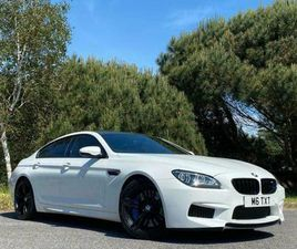 2015 BMW M6 GRAN COUPE 4.4 GRAN COUPE M DCT 4DR SALOON PETROL AUTOMATIC