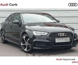AUDI A3 A3 SALOON 1.6 30TDI 116BHP S- LINE BLACK FOR SALE IN CORK FOR €32,995 ON DONEDEAL