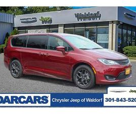 RED COLOR 2020 CHRYSLER PACIFICA TOURING FOR SALE IN WALDORF, MD 20601. VIN IS 2C4RC1FG8LR