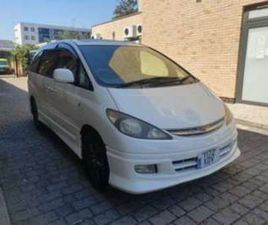 Y-REG 2001 TOYOTA ESTIMA 2.4 PETROL AUTO 7 SEATER,IMPORTED FROM JAPAN IN 20 5-DOOR