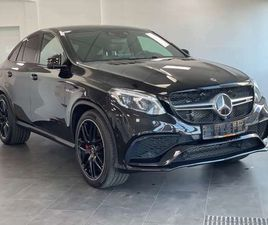 MERCEDES-BENZ GLE 63 AMG -COUPE COUPE S 4MATIC SPEEDSHIFT
