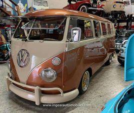1967 VOLKSWAGEN TYPE 2 VW CAMPER BUS