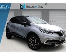 USED 2018 RENAULT CAPTUR DYNAMIQUE S NAV DC MPV 33,014 MILES IN SILVER FOR SALE | CARSITE