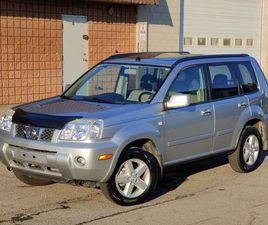 USED 2005 NISSAN X-TRAIL XE- AWD- NO ACCIDENTS- CERTIFIED