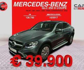 MERCEDES-BENZ GLC 250 D COUPÉ (NAVI+AUTOMATICA+PELLE) GARANZIA
