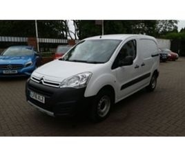 USED 2016 CITROEN BERLINGO 625 XTR PLUS L1 HDI NOT SPECIFIED 135,789 MILES IN WHITE FOR SA