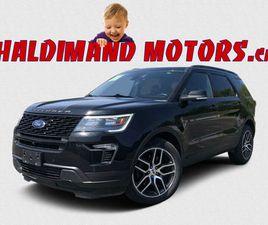 2018 FORD EXPLORER SPORT 4WD | CARS & TRUCKS | HAMILTON | KIJIJI