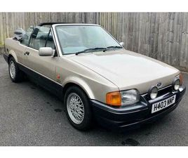 1990 LIMITED EDITION TWO TONE FORD ESCORT XR3I 12 MONTH MOT