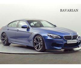 BMW M6 GRAN COUPE 4.4 4DR