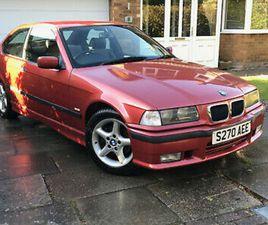 BMW 318TI COMPACT M SPORT 318 TI E36 RARE CLASSIC £4K SPENT - 11 MON MOT 1 OF 5