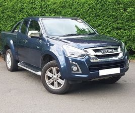 USED 2017 ISUZU D-MAX 1.9 YUKON EXTENDED CAB 4X4 IN STIRLING