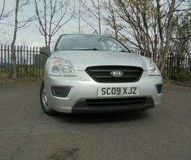 09 KIA CARENS S 1.6,5 DOOR MPV,MOT MARCH 022,2 OWNERS,FULL HISTORY,VERY LOW MILEAGE