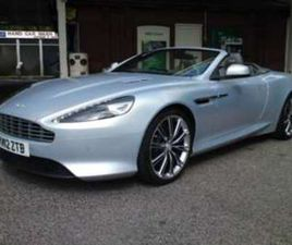 V12 2DR VOLANTE TOUCHTRONIC AUTO/ HISTORY/ LEATHER/ SAT NAV/ONLY 360 MADE