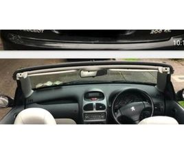 06 PEUGEOT 206 COUPE CABRIOLET FOR SALE