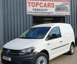 ② VW CADDY 2.0TDI 2017 SLECHTS 37000KM❗ EURO6! BLUETOOTH,.. - CAMIONNETTES & UTILITAIRES