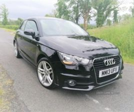 USED 2013 AUDI A1 S LINE TFSI HATCHBACK 83,611 MILES IN BLACK FOR SALE | CARSITE