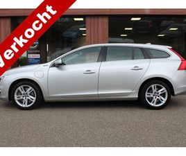 VOLVO V60 2.4 D6 TWIN ENGINE MOMENTUM (MARGE, INCL. BTW)