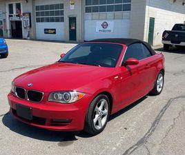 USED 2009 BMW 1 SERIES 2DR CABRIOLET 128I