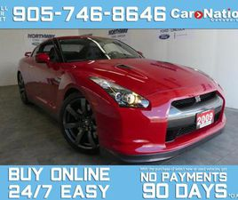 USED 2009 NISSAN GT-R LEATHER   NAV   AWD   SHOWROOM CONDITION  ONLY 14K