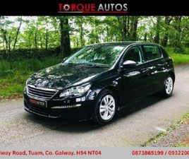 PEUGEOT 308 2016 PEUGEOT 308 1.6L BLUEHDI FINANCE FOR SALE IN GALWAY FOR €11,250 ON DONEDE