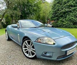 ICONIC JAGUAR XK XKR CONVERTIBLE 4.2 SUPERCHARGED ABSOLUTELY STUNNING