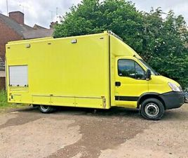 2010 IVECO DAILY 65C18 AUTO 3.0L ONLY 16K FSH MOTORHOME CAMPER CATERING VAN A/C