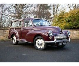 MORRIS 1000 TRAVELLER SPECIAL WITH UPGRADES