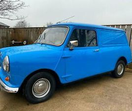 AUSTIN CLASSIC MINI VAN MINTER PX CARS MOTORCYCLES WITH £ FUNDS EITHER WAY WHY?