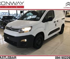 CITROEN BERLINGO 100 HDI AIRCON FRONT FOGS REV FOR SALE IN MAYO FOR €15,120 ON DONEDEAL