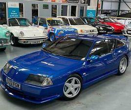 1988 RENAULT GTA ALPINE V6 TURBO UNIQUE CAR COUPE PETROL MANUAL
