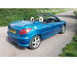 PEUGEOT 206CC BLUE MOTED LOWERED SERVICE HISTORY 79K