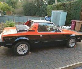 FIAT X1/9 1500VS BERTONE 39000 MILES EXCELLENT CONDITION COLOUR RED/BLACK 1984